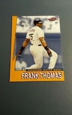FRANK THOMAS 1999 PACIFIC INVINCIBLE SEISMIC FORCE INSERT CARD # 7 A4403