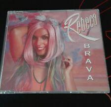 REBECA - BRAVA - CD SINGLE - MUSICA POP