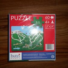 WHISTLER 60 PIECE PUZZLE WHISTLER - BUTZI GAMES AGES 4+ -NEW SEALED!