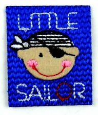 Applikation zum Aufbügeln Bügelbild  3-941  Little Sailkor