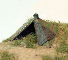 TQD GA1 20mm Diecast WWII German Zeltbahn Tent-Open