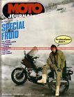 MOTO JOURNAL 722 Essai Road Test KTM 80 MX Spécial FROID HIVER Eléphants 1985