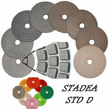 Stadea 4 Diamond Polishing Pads Grit 1500 Wetdry Pad