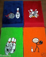 11x18 Premium Fringed Bowling Towel [pick one]  Free name Embroidered