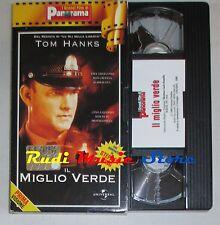 film VHS IL MIGLIO VERDE T. Hanks D. Morse  CARTONATA PANORAMA ( FP2 * )  no dvd