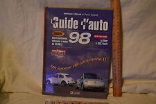 1998 ** Le Guide de l'auto de JACQUES DUVAL auto illustrated photo HB book