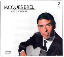 DOUBLE CD 24T JACQUES BREL IL PEUT PLEUVOIR BEST OF 2008 NEUF SCELLE