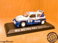 MG METRO 6R4 6-R4 1:43 McRAE-GRINDROD RAC RALLY'86 #15