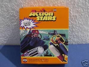 Vintage Airfix Action Stars Wasserschlitten 70er Jahre