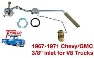 "19 67 68 69 70 71 Chevy C10 GMC Truck Original Gas Tank Sending Unit 8 cyl 3/8"""