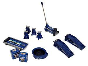 GMP 1/18 Scale Garage Tools and Accessories Bigfoot Shop Diorama Model Car Set