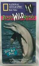 "National Geographic Kids Video Really Wild Animals ""Deep Sea Dive"" VHS 1994"