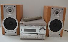 SONY HCD-MD333 HI-FI MINIDISK Mini Disc & CD PLAYER MADE IN JAPAN & Speakers