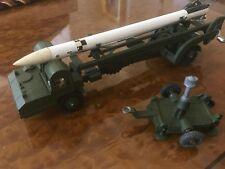 Vintage Dinky Supertoys / Mint + Box / Corporal Missile Erector / No. 666