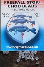 RIG MAROLE FREEFALL STOP/CHOD BEADS 4MM