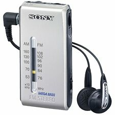 Sony SRF-S84 FM/AM Super Compact Radio Walkman with Sony MDR Fontopia Ear-Bud