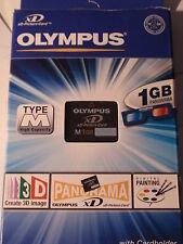 Come NUOVO! Olympus XD Scheda di memoria 1 GByte tipo M con OVP m-xd1gm