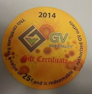 2014 Green Village Afghanistan 25 Cent not EFI/AAFES Pog  Extra Fine condition