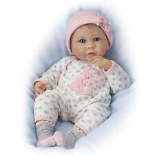 So Truly Real 17''  Somebunny Loves You Lifelike Baby Doll by Ashton Drake New