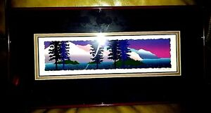 "Artist Brett Varney""Island Nights""1992 SERIGRAPH LE Signed & Numbered 116/150"