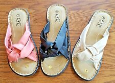 EVE 10 Pair Bulk Ladies' Leather-Like Sandals Sizes 6-11