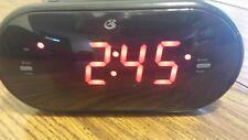 Sylvania jumbo 1.8'' digit bluetooth dual clock with AM/FM radio LED display
