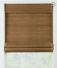Set of two matching Country Curtain Bamboo Roman Shades