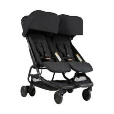 Poussette double nano black Mountain Buggy 2018