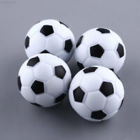 6874 New Fun Plastic 4pcs 32mm Soccer Foosball Ball Fussball Game Black+White