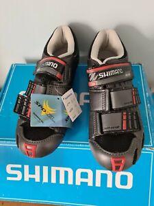 New Shimano Bike Shoes Graphite Black Size UK 3 EU36 SH-R099 SPDSL