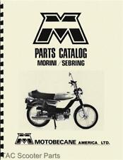 Motobecane Morini & Sebring Moped Parts Manual