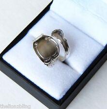 Vintage Original Sterling Silver Spoon Wrap Ring 1847 Rogers Bros. NIP