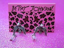 Betsey Johnson Bird Stud Earrings