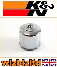 Yamaha Star Venture 2018 [K&N Motorcycle Chrome Replacement Oil Filter] KN-204C