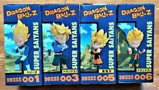 DRAGONBALL Z SUPER SAIYANS DBZSS - SET OF 4 FIGURES WCF BANPRESTO GOTEN NEW