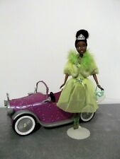 Mattel Disney Tiana Frog Princess Barbie Style Doll W/ Clothes &Shoes - Car