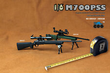 "Coomodel 1:6 Scale Psg-1 Sniper Rifle Gun Weapon Model For 12"" Action Figure"