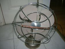 """VINTAGE WESTINGHOUSE OSCILLATING 2 SPEED 12"""" TABLE FAN CAT NO 12 LA 4 MADE USA"""