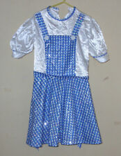 Rubies Costume Co 883702 Dorothy Wizard Of Oz Sequin Costume For Girls 10 Medium