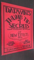 DE DARWIN Thumb Tip 1 Secrets Over 200 Ilustraciones Foreword By Reveen 1984 Tbe