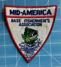MID-AMERICA BASS FISHING ASSOCIATION PATCH