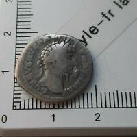 H08106 denier romain Lucius verus 166 Rome ric561 rareté r1 pièce monnaie argent