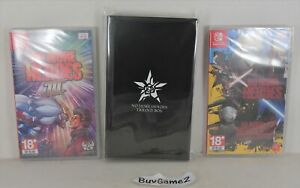 Switch No More Heroes 1 + 2 + 3 (HK, ENGLISH) + Trilogy Collector's Limited Box