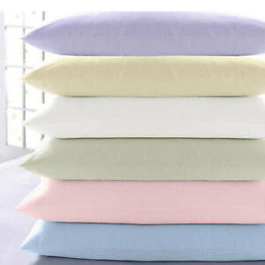 Vantona 100% Brushed Cotton Flannelette Fitted and Flat Sheets - Sold Separately