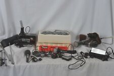 Microphones Olsen, RCA, Dynamic, vintage- also antennas for repair parts mint!