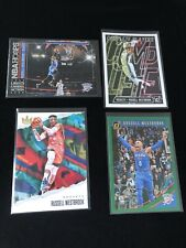 2018, 2019 Panini russell westbrook Lot (4) Court Kings Hoops Donruss