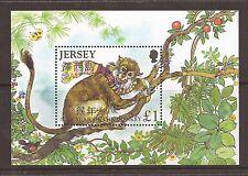 Jersey 2004 Chinese New Year Monkey  MNH