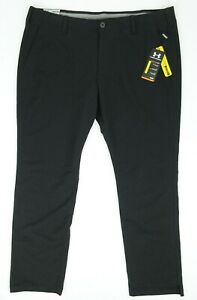 NEW! Under Armour Men's Match Play Tapered Golf Pants Black 42 x 34 1253492 $79