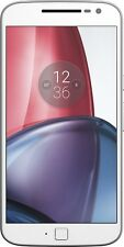 "Motorola Moto G4 Plus Dual Sim XT1642 White (FACTORY UNLOCKED)  5.5"" 16GB 16MP"