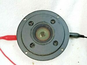 1 Philips AD 0160/T8 Vintage Mylar Dome Tweeter - Tested